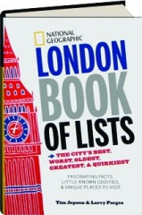 NATIONAL GEOGRAPHIC LONDON BOOK OF LISTS