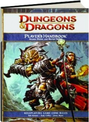 DUNGEONS & DRAGONS PLAYER'S HANDBOOK, 4TH EDITION: Roleplaying Game Core Rules