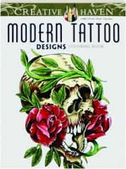 MODERN TATTOO DESIGNS COLORING BOOK