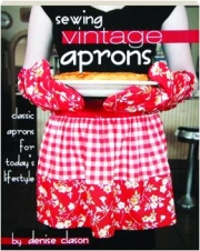 SEWING VINTAGE APRONS