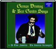 GERMAN DRINKING & BEER GARDEN SONGS
