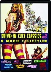 DRIVE-IN CULT CLASSICS, VOL. 3: 8 Movie Collection