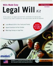 LEGAL WILL KIT, 2ND EDITION