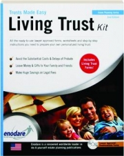 LIVING TRUST KIT, 2ND EDITION