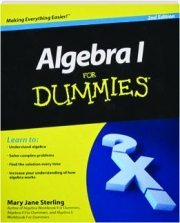 ALGEBRA 1 FOR DUMMIES, 2ND EDITION