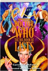 UNOFFICIAL DOCTOR WHO--THE BIG BOOK OF LISTS