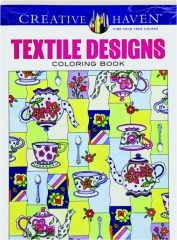 TEXTILE DESIGNS COLORING BOOK