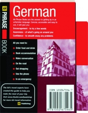 GERMAN: AA Phrase Book