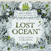LOST OCEAN: An Inky Adventure & Coloring Book