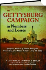 THE GETTYSBURG CAMPAIGN IN NUMBERS AND LOSSES: Synopses, Orders of Battle, Strengths, Casualties, and Maps, June 9-July 14, 1863