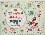 DOODLE STITCHING TRANSFER PACK: 300+ Embroidery Patterns
