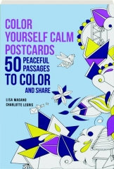 COLOR YOURSELF CALM POSTCARDS
