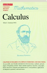 CALCULUS--MATHEMATICS: Barron's College Review Series