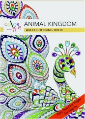 COLOR FULL ANIMAL KINGDOM: Adult Coloring Book
