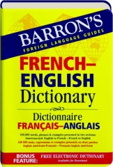 FRENCH-ENGLISH DICTIONARY: Barron's Foreign Language Guides