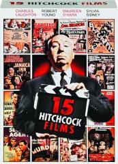 15 HITCHCOCK FILMS