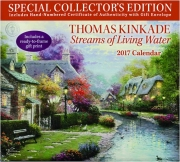 2017 THOMAS KINKADE STREAMS OF LIVING WATER CALENDAR