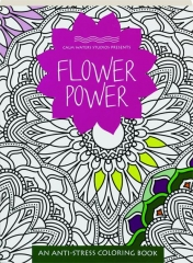 FLOWER POWER An Anti Stress Coloring Book