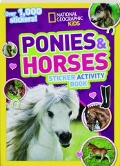 PONIES & HORSES STICKER ACTIVITY BOOK
