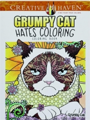 GRUMPY CAT HATES COLORING