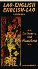 LAO-ENGLISH / ENGLISH-LAO DICTIONARY AND PHRASEBOOK