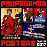 2017 PROPAGANDA POSTERS CALENDAR