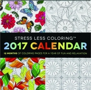2017 STRESS LESS COLORING CALENDAR