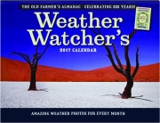 2017 THE OLD FARMER'S ALMANAC WEATHER WATCHER'S CALENDAR