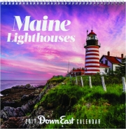 2017 DOWN EAST MAINE LIGHTHOUSES CALENDAR
