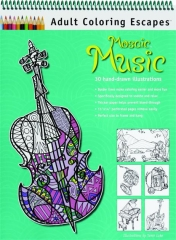 MOSAIC MUSIC: Adult Coloring Escapes