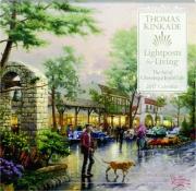 2017 THOMAS KINKADE LIGHTPOSTS FOR LIVING CALENDAR