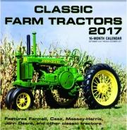 2017 CLASSIC FARM TRACTORS 16-MONTH CALENDAR