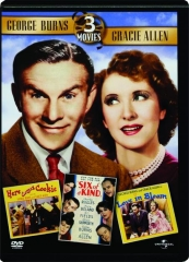 GEORGE BURNS / GRACIE ALLEN: 3 Movies