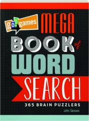 GO! GAMES MEGA BOOK OF WORD SEARCH: 365 Brain Puzzlers