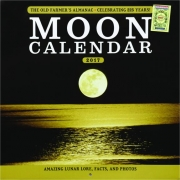 2017 THE OLD FARMER'S ALMANAC MOON CALENDAR