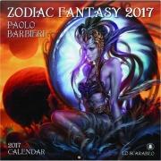 2017 ZODIAC FANTASY CALENDAR