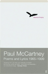 BLACKBIRD SINGING: Poems and Lyrics 1965-1999