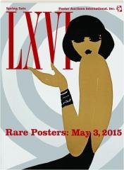 RARE POSTERS PAI-LXVI: May 3, 2015