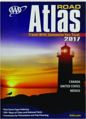 AAA ROAD ATLAS, 2017: Canada, US, Mexico