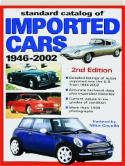 STANDARD CATALOG OF IMPORTED CARS, 1946-2002, 2ND EDITION