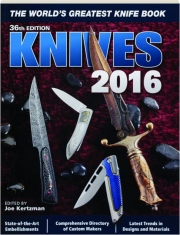 KNIVES 2016, 36TH EDITION