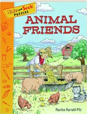 ANIMAL FRIENDS: Hide-and-Seek Puzzles