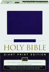 KJV HOLY BIBLE, GIANT PRINT EDITION