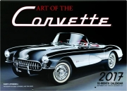 2017 ART OF THE CORVETTE 16-MONTH CALENDAR