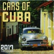 2017 CARS OF CUBA 16-MONTH CALENDAR