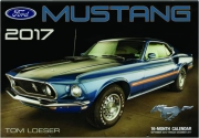 2017 FORD MUSTANG 16-MONTH CALENDAR