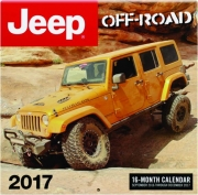 2017 JEEP OFF-ROAD 16-MONTH CALENDAR