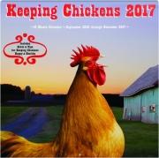 2017 KEEPING CHICKENS 16 MONTH CALENDAR