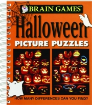 BRAIN GAMES HALLOWEEN PICTURE PUZZLES