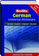 GERMAN UNIVERSAL DICTIONARY